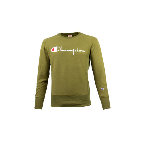Crewneck Sweatshirt Logo Green 212576 S19 GS543