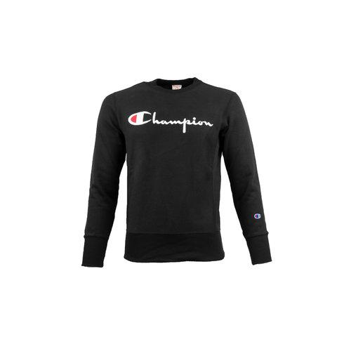 Crewneck Sweatshirt Logo Black 212576 S19 KK001