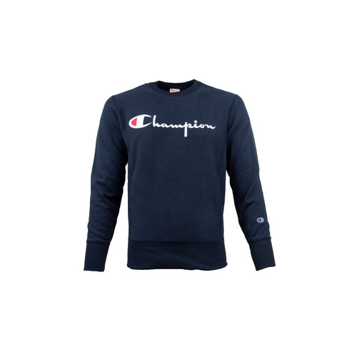 Crewneck Sweatshirt Logo Navy 212576 S19 BS501