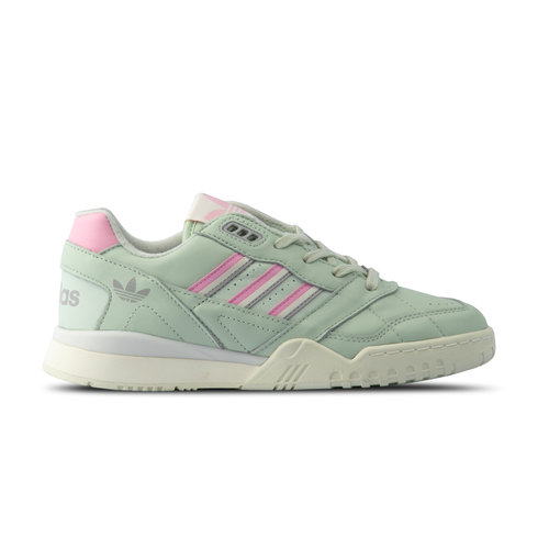 A R Trainer Linen Green True Pink Off White D98156