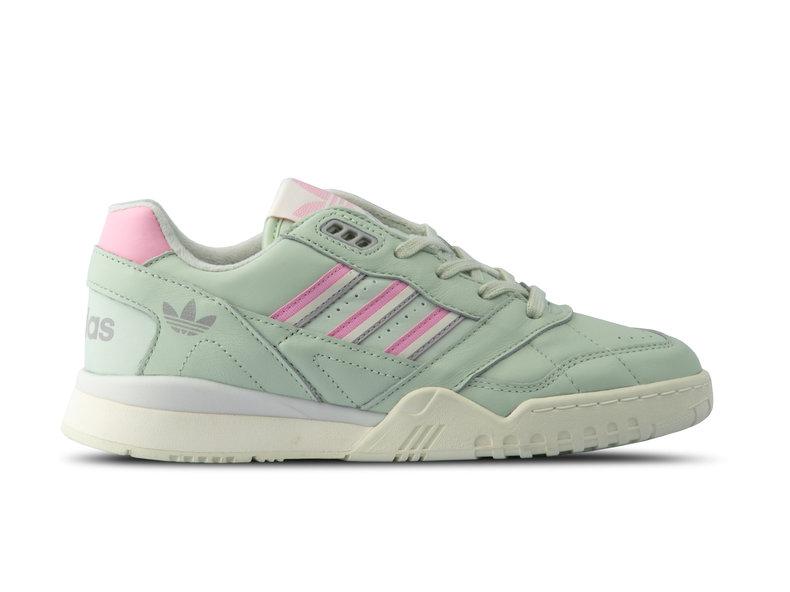 9348c7979f1 Adidas A R Trainer Linen Green True Pink Off White D98156 | Bruut ...