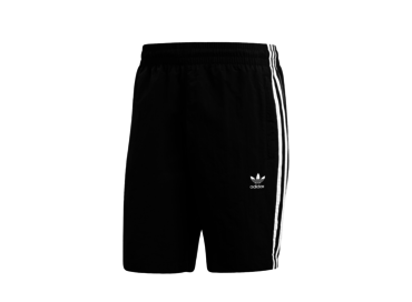 Adidas 3 Stripes Swim Black CW1305