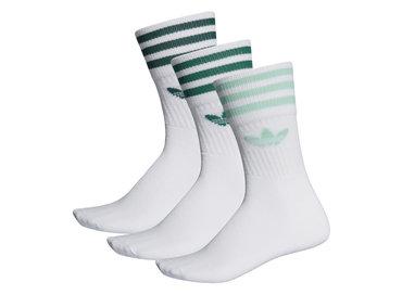Adidas Mid Cut Crew Sock White Clemin ED1131