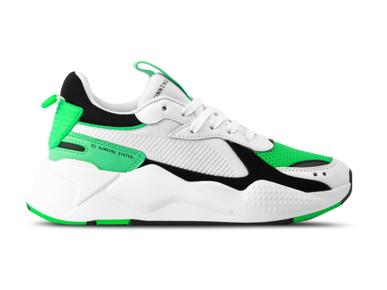 RS X Reinvention Puma White Irish Green 369579 05
