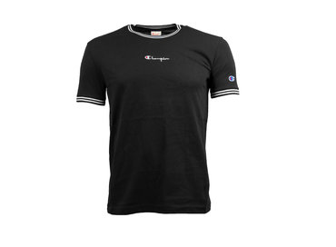 Champion Crewneck T Shirt Black 213034 S19 KK001