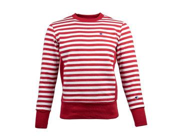 Champion Crewneck Sweatshirt HTR WHT 212970 S19 RM005