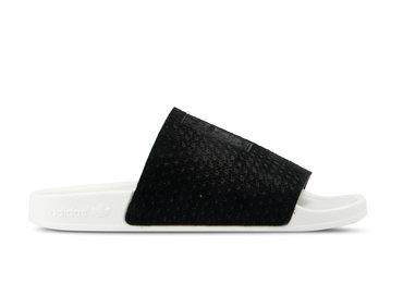 Adidas Adilette Luxe W Core Black Core Black Off White CG6554