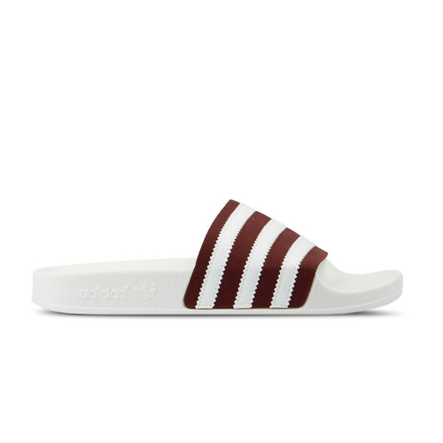 Adilette Core Burgundy Footwear White Off White BD7574