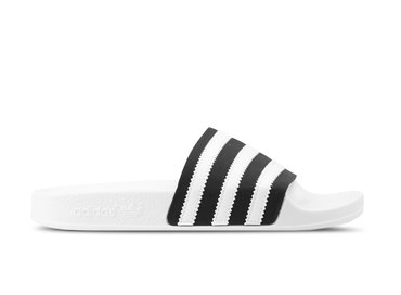 Adidas Adilette Core Black Footwear White Off White BD7592