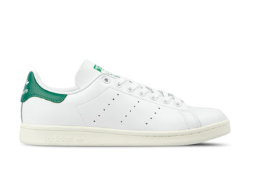 Adidas Stan Smith White Off White Bold Green BD7432