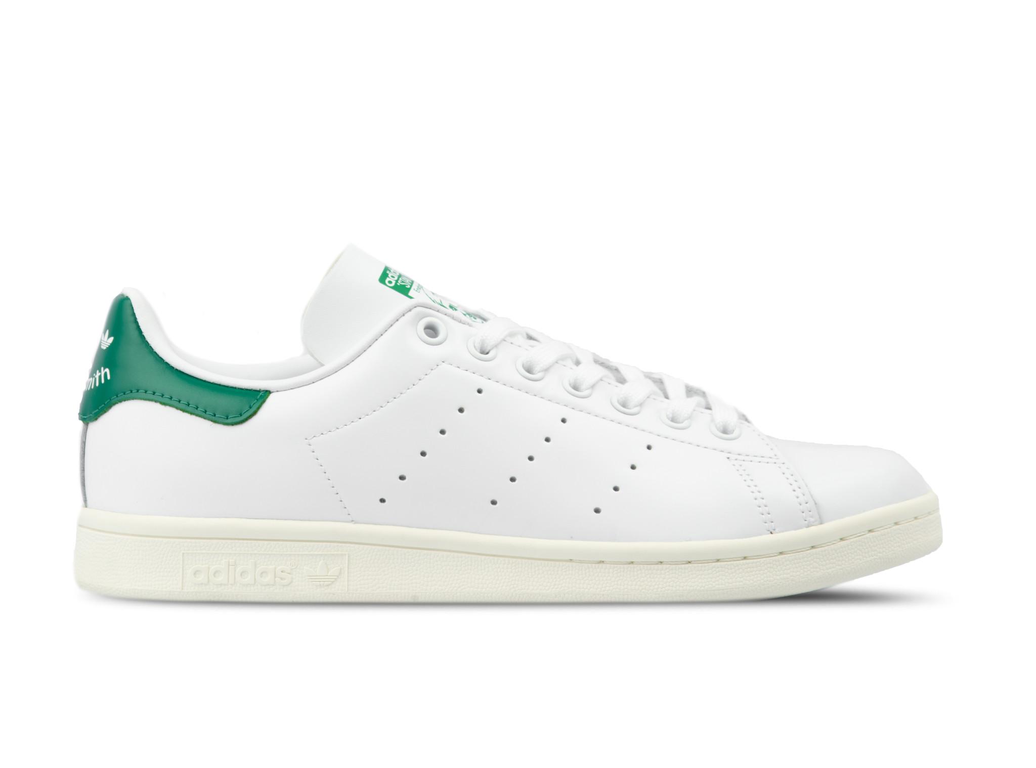 Adidas Stan Smith White Off White Bold Green BD7432 | Bruut