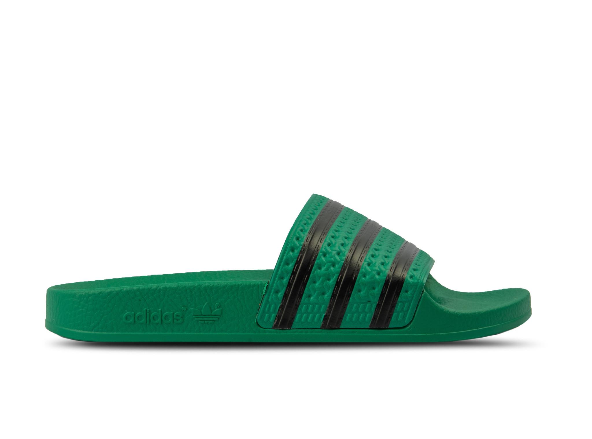 Adidas Adilette Bold Green Core Black Bold Green CM8443