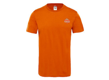 The North Face Ridge Tee Caramel Cafe T93L3HUBT