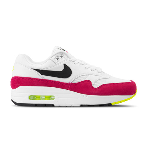 Air Max 1 White Black Volt Rush Pink AH8145 111
