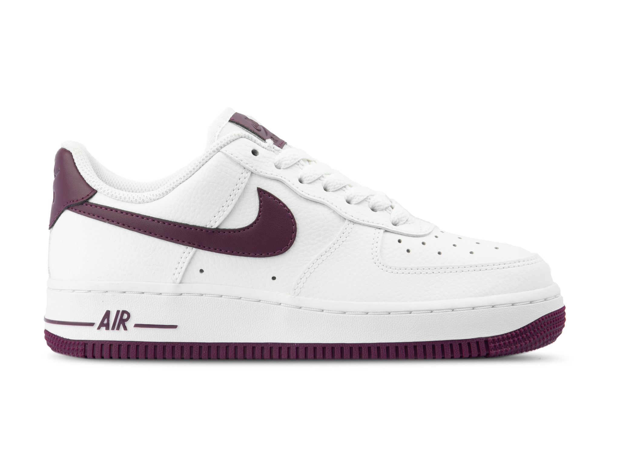 buy online 67420 803f4 Nike Air Force 1 '07 White Bordeaux AH0287 105 | Bruut Online shop ...