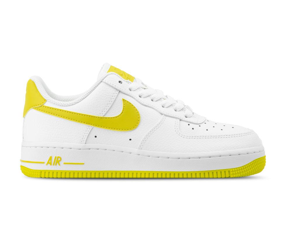 Nike WMNS Air Force 1 '07 White Bright Citron AH0287 103