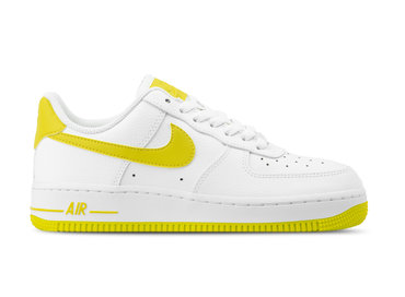 Nike WMNS Air Force 1 '07 White Bright Citron AH0287 103