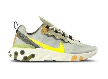 Nike React Element 55 Spruce Aura Volt Spruce Fog BQ6166 009