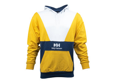 Helly Hansen Urban Retro Hoodie Evening Blue White Yellow 29850 689