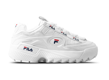 Fila D Formation WMNS White Fila Navy Fila Red 5CM00514 125