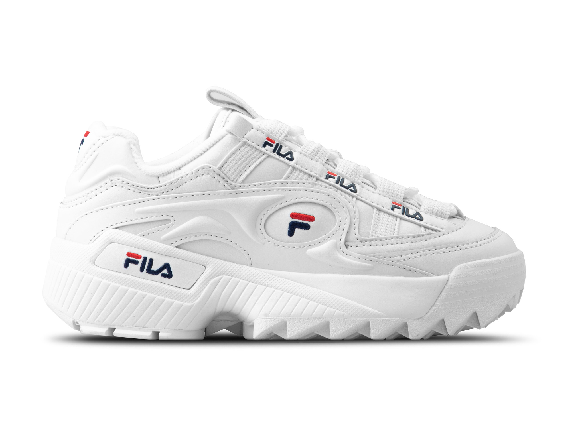 D Formation WMNS White Fila Navy Fila Red 5CM00514 125