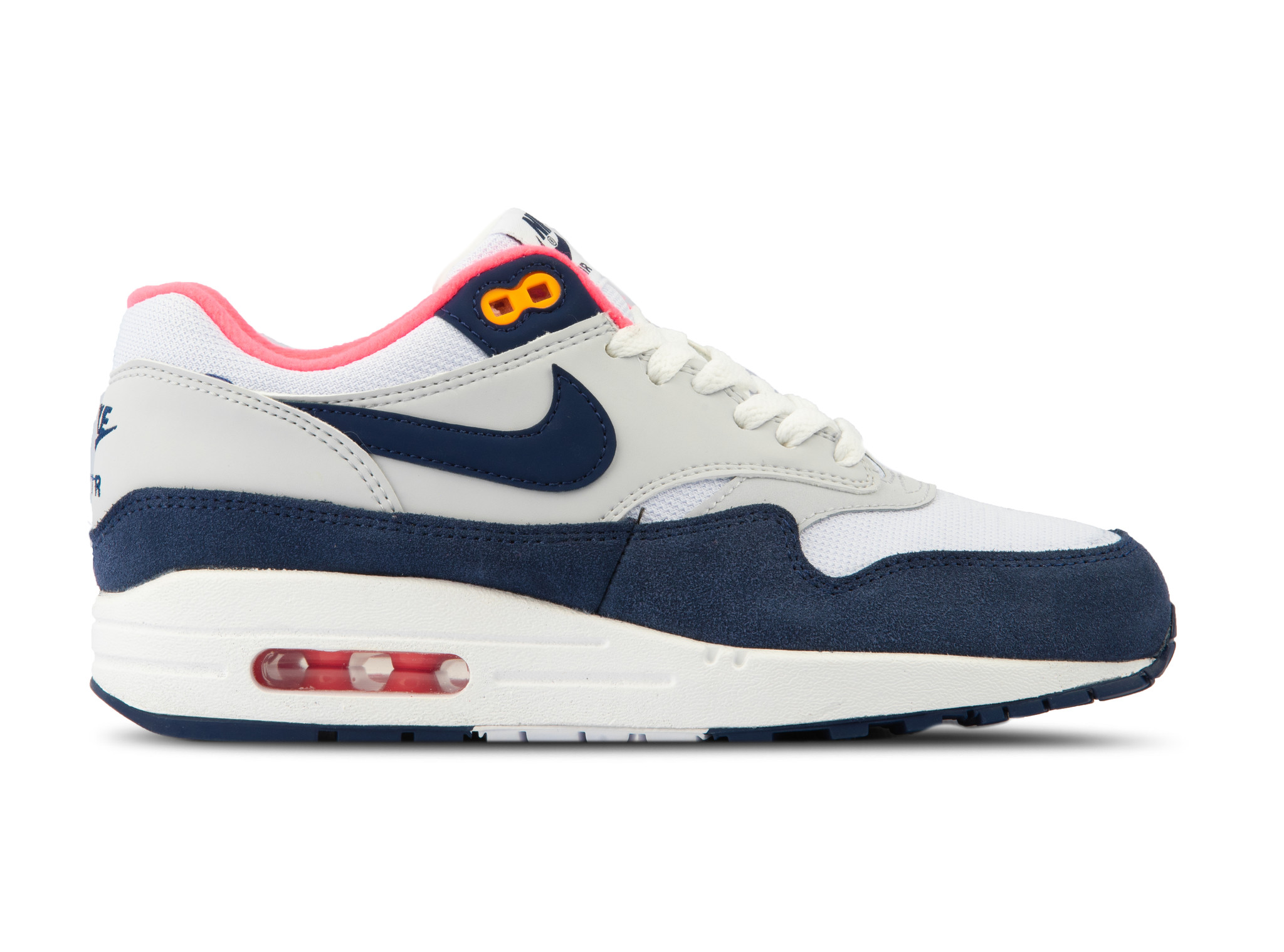 57be970dc7cddf WMNS Air Max 1 White Midnight Navy 319986 116 will be added to your  shopping card