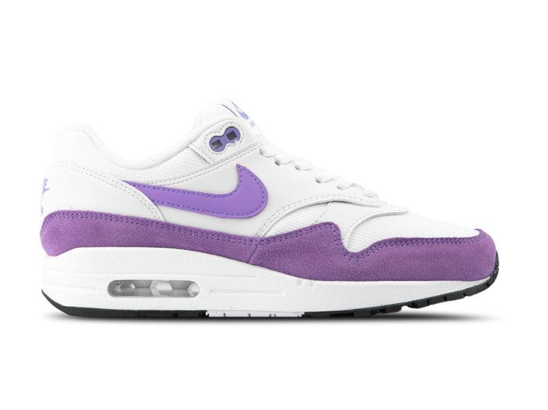 Nike WMNS Air Max 1 Summit White Atomic Violet Black 319986 118 | Bruut Online shop