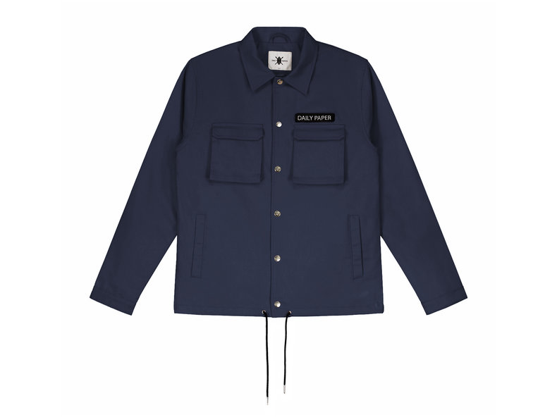 321e3a291a99 Daily Paper Coach Jacket Navy 00N1PA05 02 | Bruut Online shop - Bruut  Online Shop & Sneakerstore