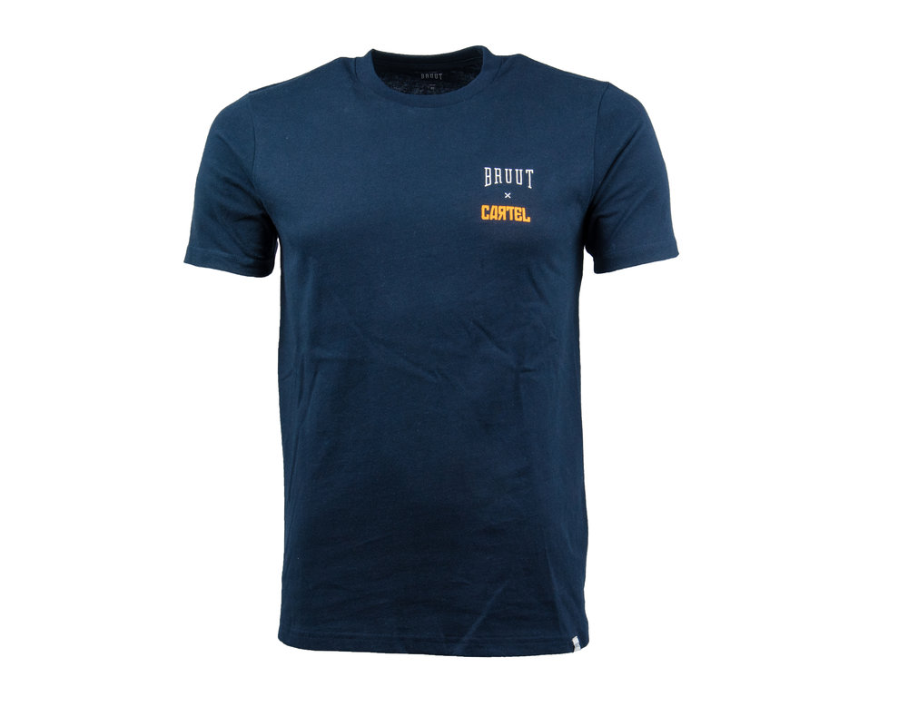Bruut x Cartel Kingsday Tee Navy HFD19cartel01