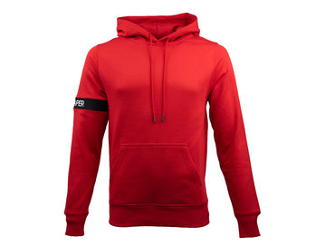 Daily Paper Captain Hoodie Red NOST34