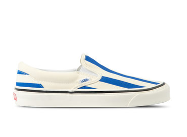 Vans Classic Slip On 9 Anaheim Factory OG White Blue VN0A3JEXVN01