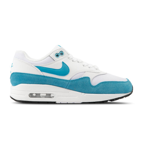 WMNS Air Max 1 White LT Blue Fury Black 319986 117