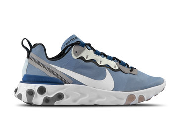 Nike React Element 55 Indigo Fog White Mystic Navy BQ6166 402