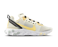 Nike React Element 55 White Pale Vanilla Black BQ6166 101