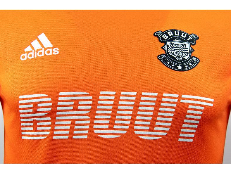 x Bruut Football Jersey Orange HFD19Adi01