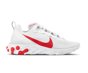 693ae069aa Nike React Element 55 SE SU19 White University Red BQ6167 102 | Bruut  Online shop - Bruut Online Shop & Sneakerstore