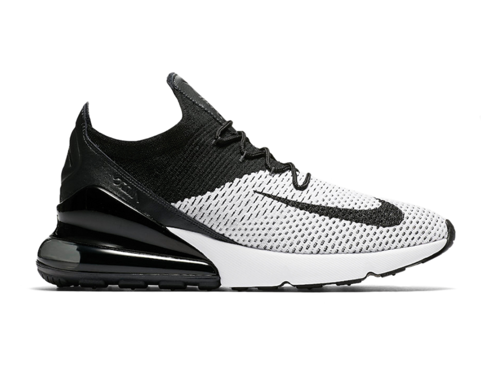 bb8733599075a Air Max 270 Flyknit White Black Anthracite AO1023 100 will be added to your  shopping card