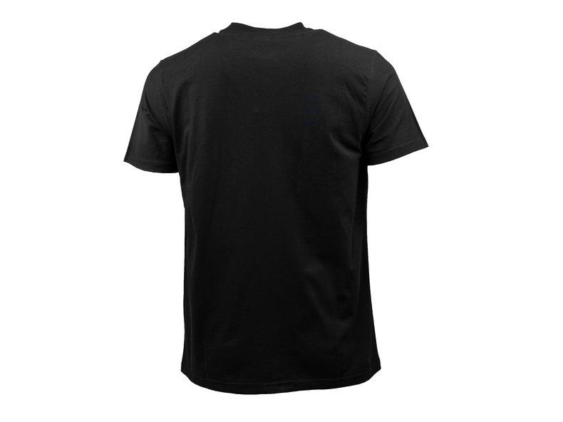 T Shirt Troy Multi Logo Black SS19 025