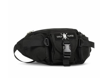 Daily Paper Multi Pocket Waist Bag Black NOSA02