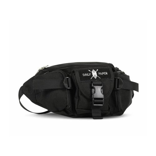 Multi Pocket Waist Bag Black NOSA02