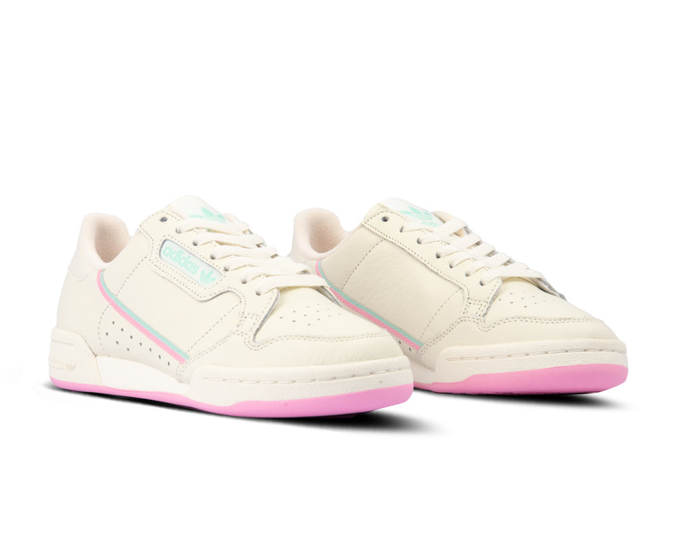 Adidas Continental 80 Off White True Pink Clemin BD7645