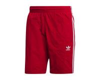 Adidas 3 Stripes Swim Short Power Red DV1585