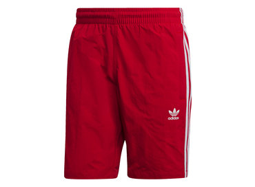 Adidas 3 Stripes Swim Short Power Red DV1585