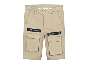 Daily Paper Cargo Shorts Beige 19R1SH01 04