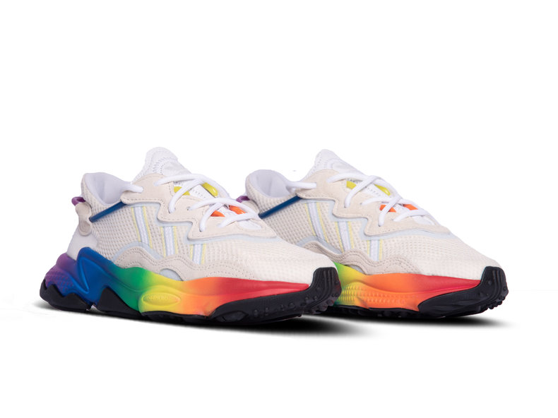 Ozweego Pride Off White Blue Tint Core Black EG1076