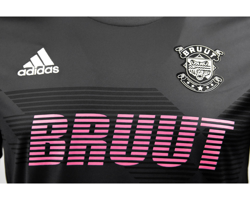 Adidas x Bruut Football Jersey Space Grey HFD19Adi02