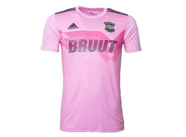 Adidas x Bruut Football Jersey Pink HFD19Adi03