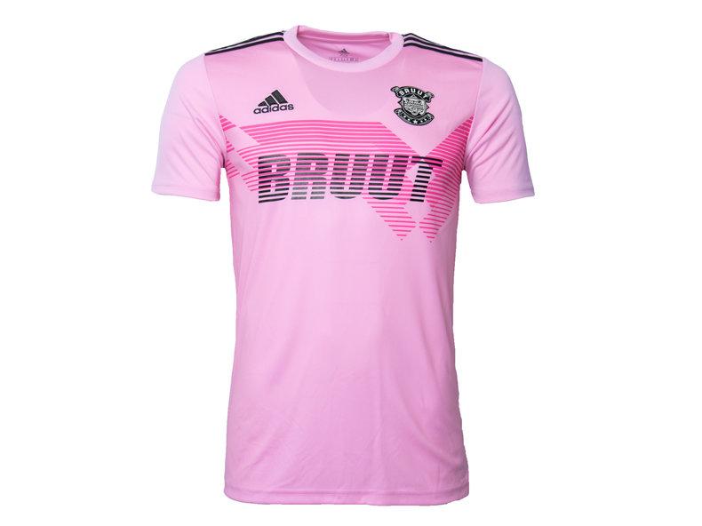 x Bruut Football Jersey Pink HFD19Adi03