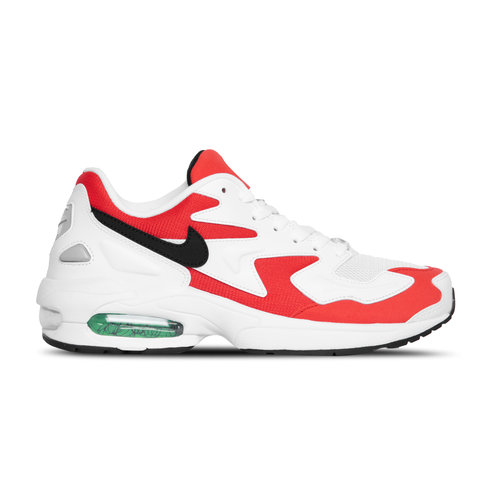 Air Max2 Light White Black Habanero Red AO1741 101