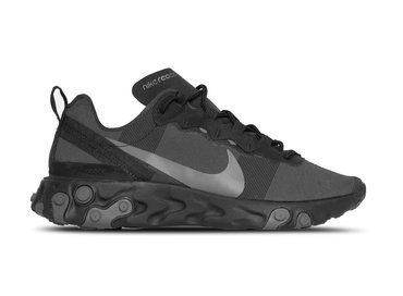 Nike React Element 55 Black Dark Grey BQ6166 008